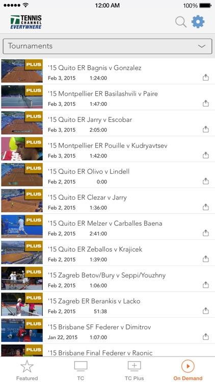 Tennis Channel Everywhere screenshot-3