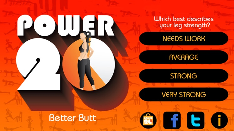 20 Minute Butt Workouts: Power 20