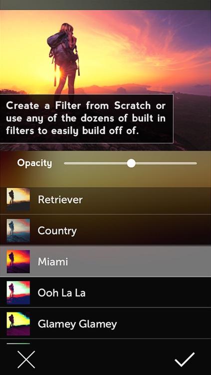 Vibrance - Photo Filter Creator