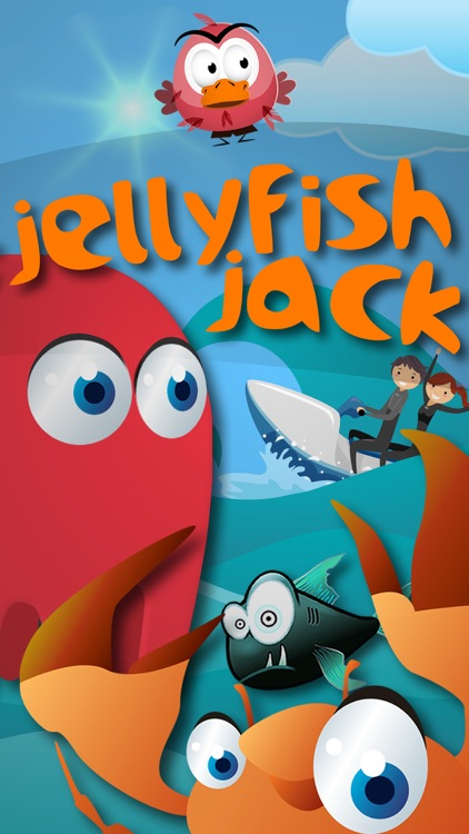 Jelly Fish Jack Childrens Game - Race crabs, fish and jetski in a fun under water adventure