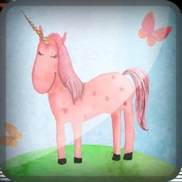 3D Unicorn Rainbow King-dom Juggle Safari Lite