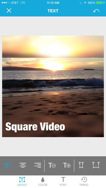 Square Video for Instagram & Vine
