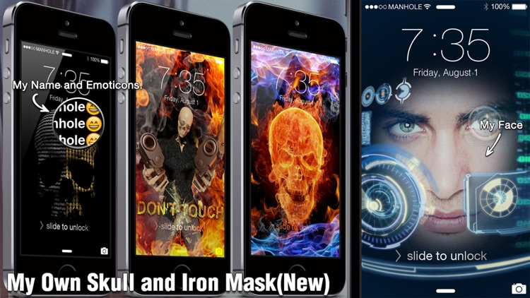 Magic Screen Pro - Customize your Lock & Home Screen Wallpaper for iPhone & iPod Touch (iOS8) screenshot-3