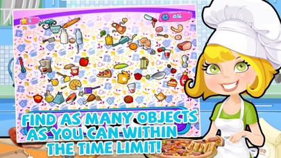 Crazy Messy Kitchen Diner Chef Hidden Objects Puzzle Game App