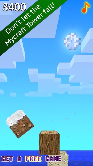 My Tower Physics - Stacking 8-Bit Build-ing Blocks in the Pixelated Cube Worldのおすすめ画像4