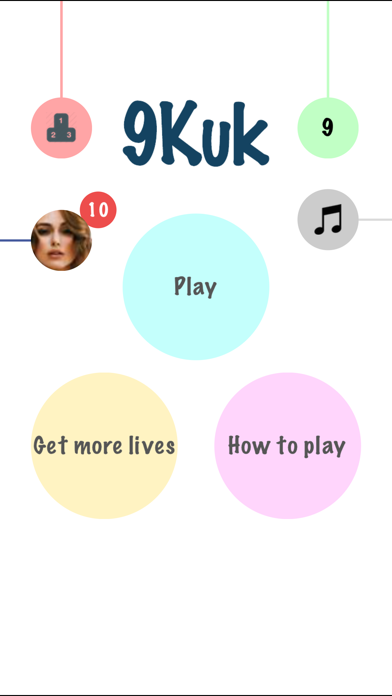 9Kuk - tricky puzzle game for games loverのおすすめ画像1