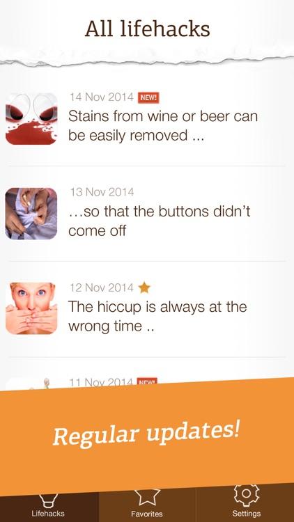 Life Hacks Pro - useful tips and tricks screenshot-4