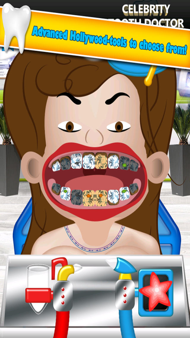A Little Princess Celebrity Dentist - My Crazy Hospital Office For Girls Salon 2 screenshot one