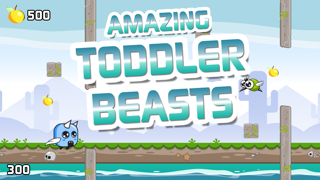 Amazing Toddler Beasts – Tiny Monsters in Full Flight screenshot one