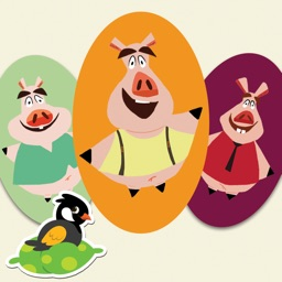 The Three Little Pigs - BulBul Apps for iPhone