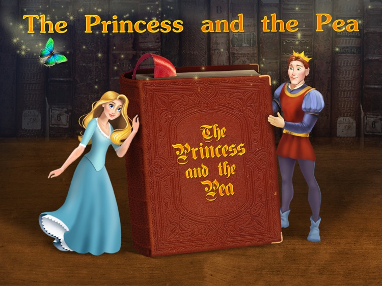 The Princess and the Pea - preschool & kindergarten fairy tales book for kids HD