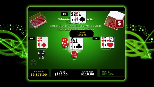 Harrington Casino Table Games