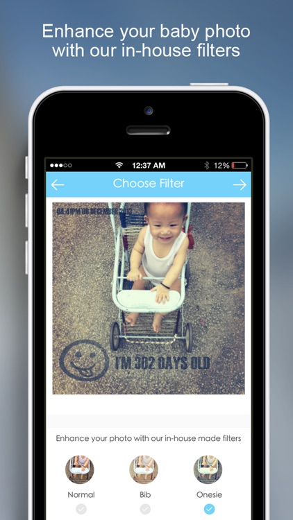 InstaB For Baby - Beautiful way to share baby's milestones, growth and advice screenshot-3