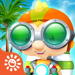 Jetpack Party – Fly, collect gas, & rescue friends for an island party: Play free fun family flying games
