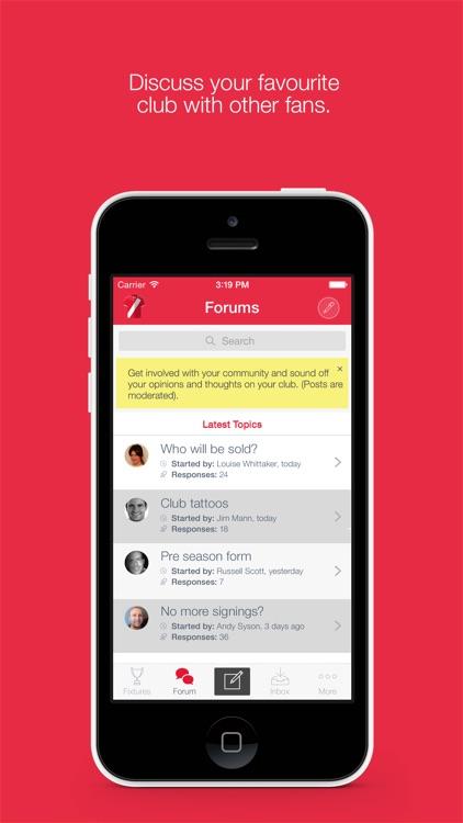 Fan App for Middlesbrough FC