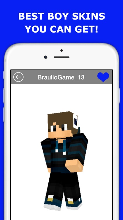 Animated Boy Skins for Minecraft PE FREE