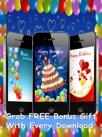 screenshot 1 for the ultimate happy birthday cards pro version - Send Birthday Card