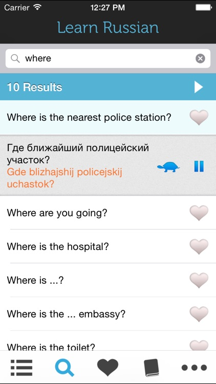 Learn Russian - Phrasebook for Travel in Russia, Moscow, Saint Petersburg, Novosibirsk, Yekaterinburg, Nizhny Novgorod, Samara, Omsk screenshot-3