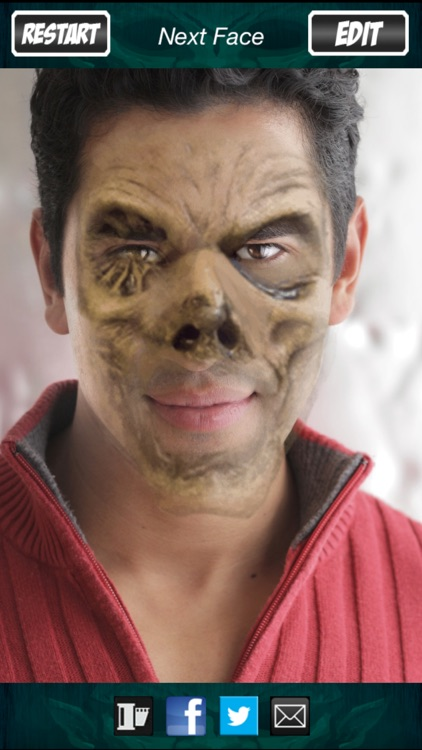 Halloween Monster Face: FREE Virtual Scary Masks screenshot-3