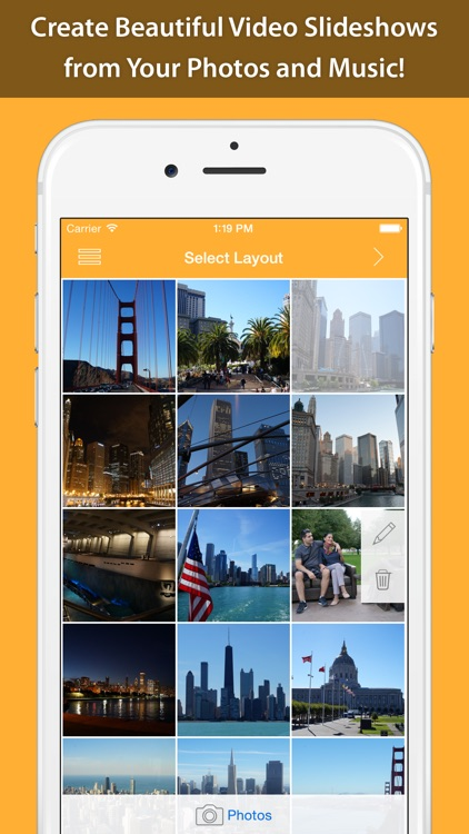 VideoStory Pro — Photo Slideshow Video Maker for Instagram