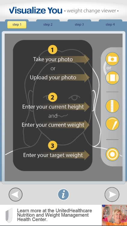 Visualize You: weight change viewer — free version