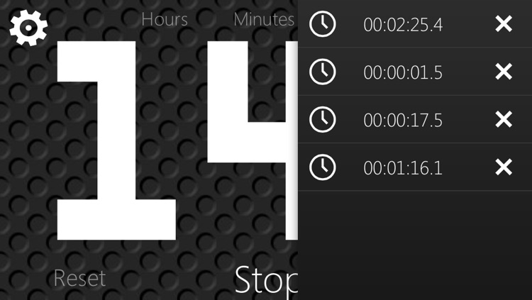 Stopwatch and Timer with big numbers screenshot-4