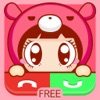 Call Screen Maker - Cute Cartoon Special for iOS 8