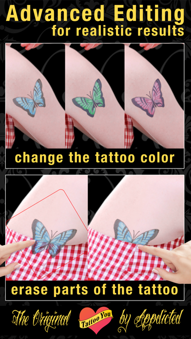 Tattoo You - Add tattoos to your photosのおすすめ画像3