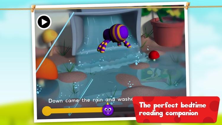Itsy Bitsy Spider: 3D Interactive Story Book For Children in Preschool to Kindergarten HD screenshot-3