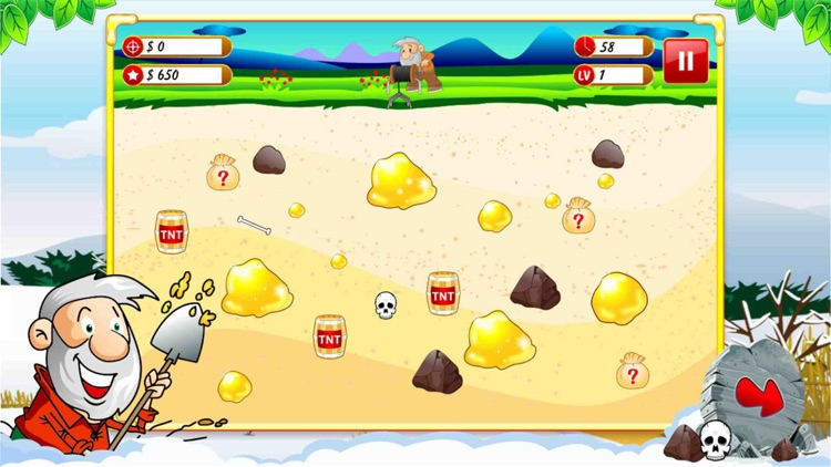 Gold Miner Deluxe Edition Pro screenshot-3