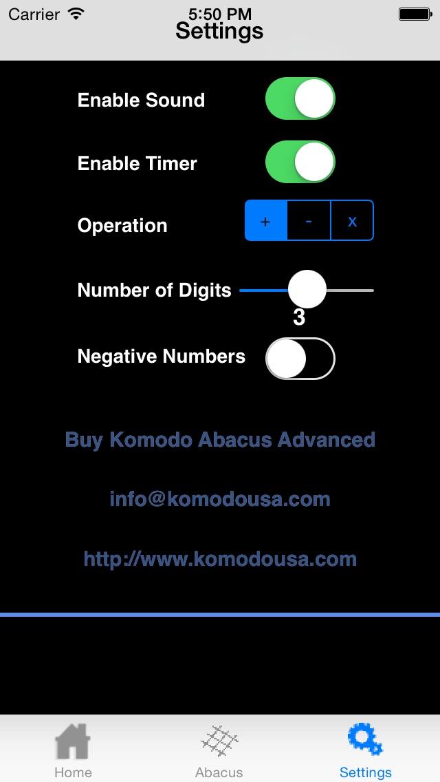 Komodo Abacus Math Program-1
