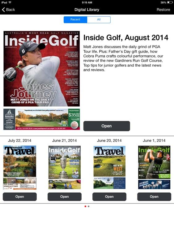 Inside Golf Magazine