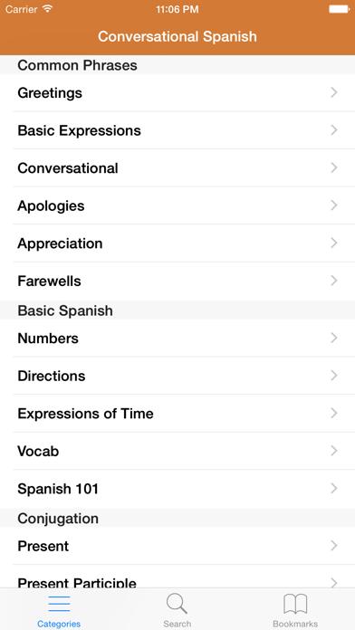 Spanish Phrasebook: Conversational Spanishのおすすめ画像1