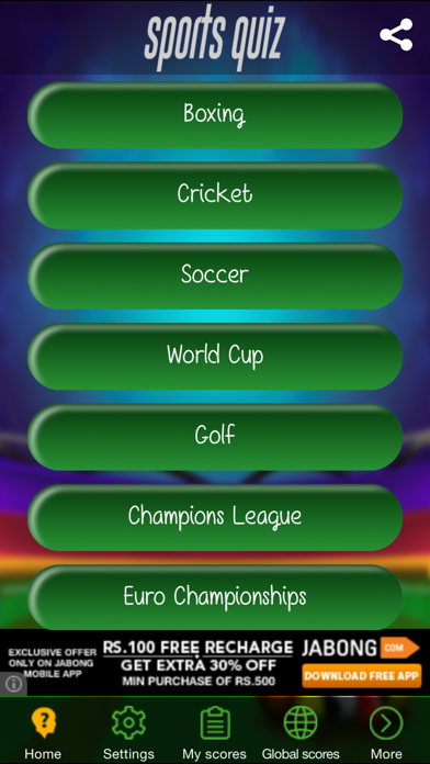 Sports Quiz - Challenging Sports Trivia screenshot two