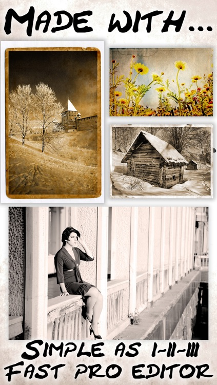 Vintage Camera Retro filters plus awesome 8mm photo effects & sketch art filters screenshot-2