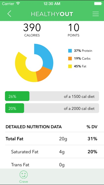 HealthyOut - Healthy Restaurant Nutrition Guide screenshot-3