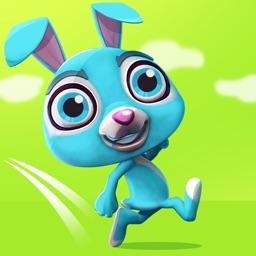 Jumpy the Bunny: Mega Fun Rabbit Jumping & Running through the Forest