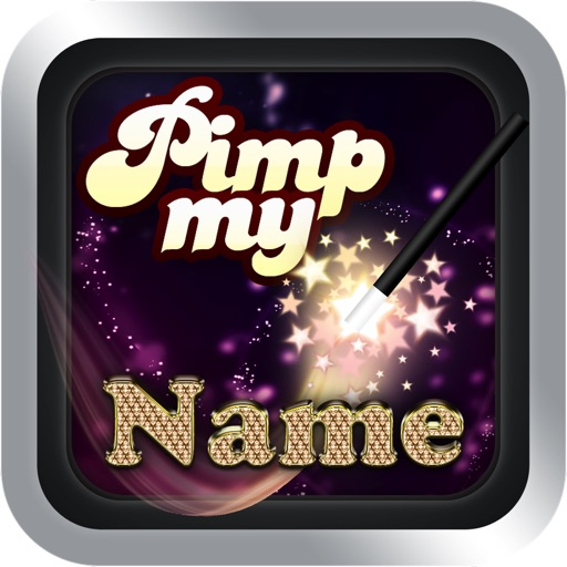 Pimp my Name icon
