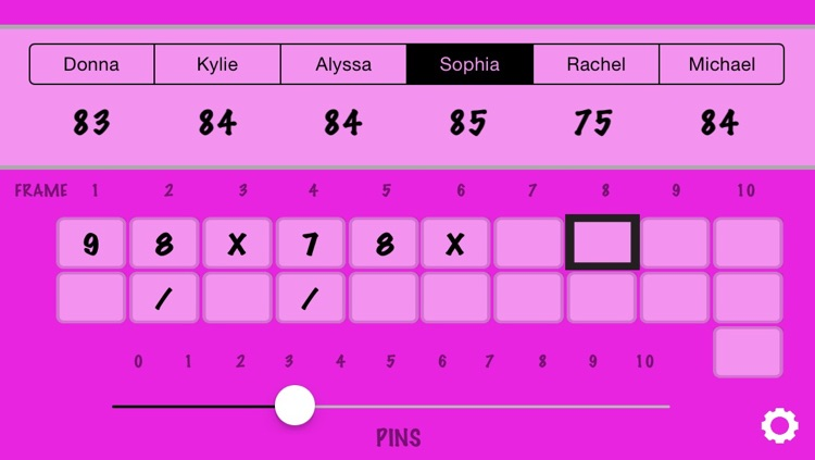 Bowling Score Calculator screenshot-0