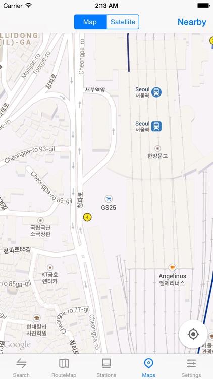 Metro Seoul Subway screenshot-4