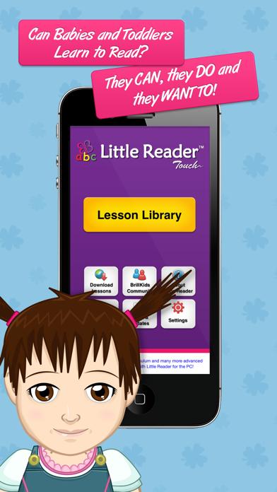 Little Reader Touch screenshot one