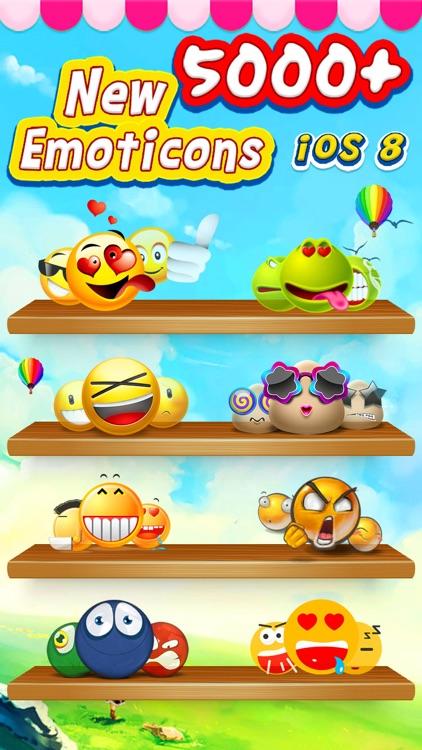 GIF Emoji Keyboard -  New 5000 + Animated 3D Emoticons Keyboard for iOS 8 & iOS 7 FREE screenshot-3