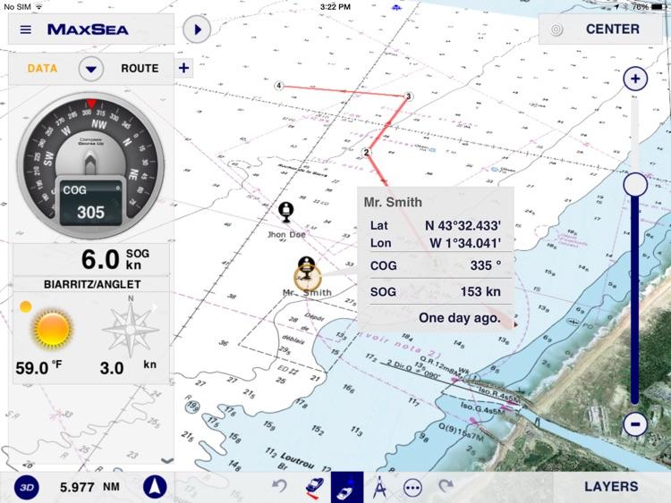 MaxSea TimeZero Marine Navigation screenshot-4