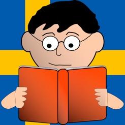 Montessori Lesen und Spielen auf Schwedisch - Schwedisch mit Übungen der Montessori-Methodik Lesen Lernen