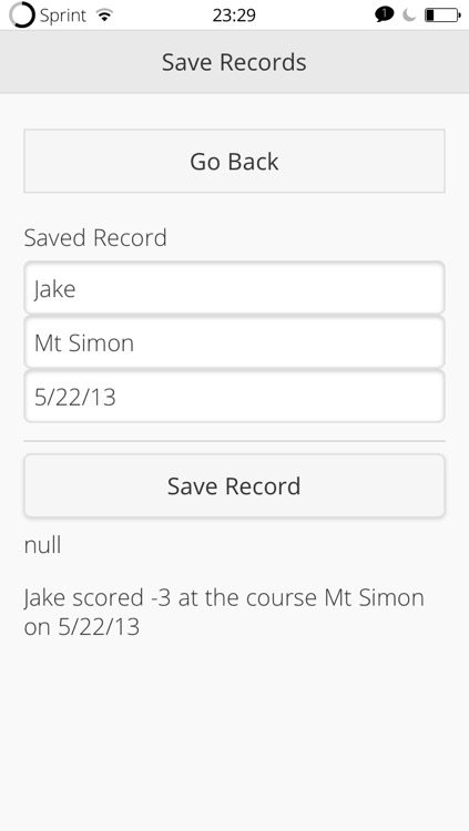 Score Card for Disc Golf screenshot-3