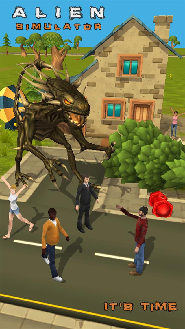 Alien Simulator screenshot one