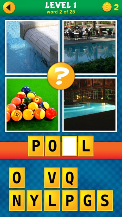 4 Pics 1 Word Puzzle: What's That Word?