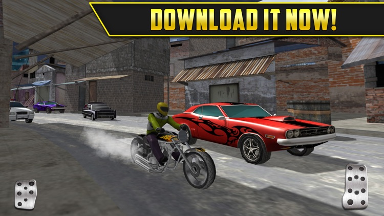 3D Motor-Bike Drag Race: Real Driving Simulator Racing Game screenshot-4
