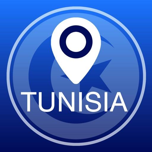 突尼斯離線地圖+城市指南導航,旅遊和運輸