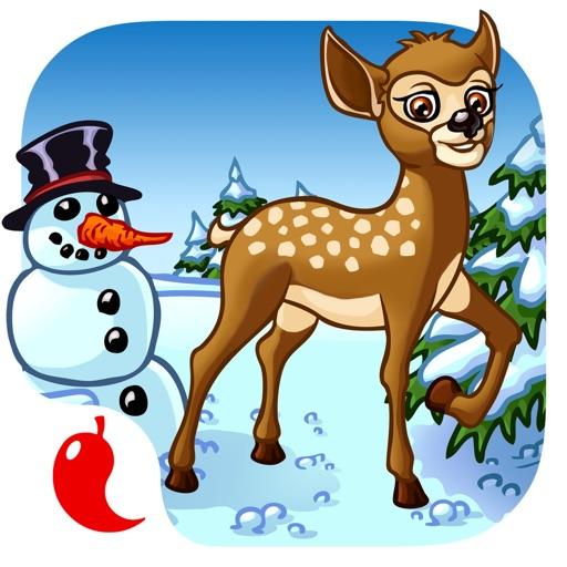 моя первая загадка животных - лесные животные для малышей и детей (Animal shapes and forms children puzzle app for kindergarten kids and toddlers)